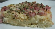 Receitas e Sabores by GEZZA: Torta de pão (sabor pizza)