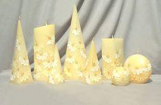 Свечи с росписью Less Candless