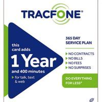 Tracfone 1 Year of Service and 400 Minutes   ****Please read before buying****No more email at Amazon only -The following product is instruction with pin to add the credit to your Read  more http://themarketplacespot.com/smartphone/tracfone-1-year-of-service-and-400-minutes/