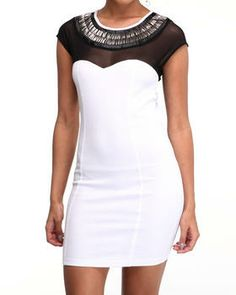 Love this Donna Beaded Neck Ponte Dress by DJP OUTLET on DrJays. Take a look and get 20% off your next order!