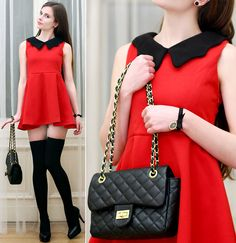 Ariadna M. - Red elegance