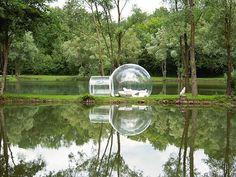 BubbleTree tent.