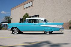 1957 Chevy Bel-Air...this has always been one of my favorite vintage cars.