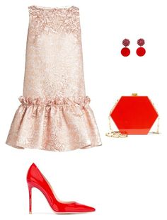"""""""V club"""" by miumiudeleeuw on Polyvore featuring Osman, Gianvito Rossi, Marni and Edie Parker"""
