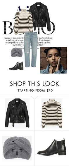 """""""Enough"""" by agnesegundega on Polyvore featuring Yves Saint Laurent, IRO, rag & bone, Topshop and Frame"""
