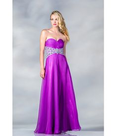 2013 Prom Dresses - Light Purple Strapless Satin & Chiffon Prom Dress - Unique Vintage - Prom dresses, retro dresses, retro swimsuits.
