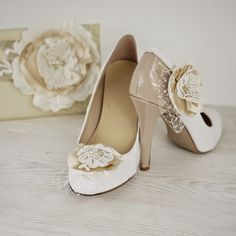 Our new rustic wedding clutch   shoe clips