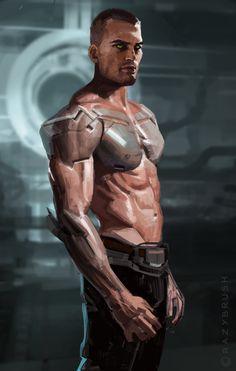 Biotech Soldier, Goran Bukvic Crazybrush