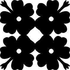 Hawaiian Quilt Tile 35