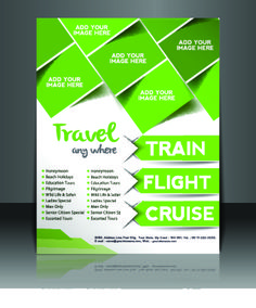 Business flyer and brochure cover design vector 32