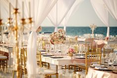 Chic Cancun Beach Wedding