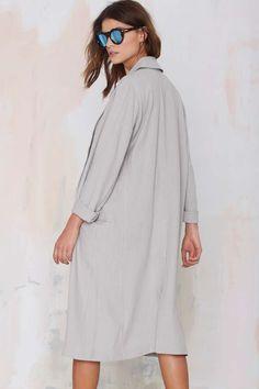 BB Dakota Caelyn Linen Coat - Coats