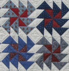 Dutchman's puzzle - great colours for this pattern.