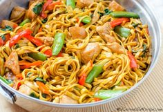 Chicken Lo Mein – Homemade Takeout Style! – My Incredible Recipes