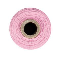 Pink Cotton Bakers Twine 240 yards 4 ply made in USA