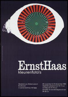 Jan van Toorn, Ernst Haas kleurenfoto's Stedelijk van Abbemuseum Eindhoven, 1965