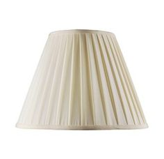 Livex Lighting S516 Lampshade with Off White Shantung Silk Pleat Empire Shade from Lampshade Series