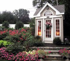 You Decide: Garden Shed or Backyard Retreat