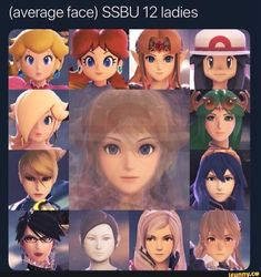 So what your saying is, if we combine all of the ladies, then we get Shulk? Super Smash Bros Memes, Nintendo Super Smash Bros, Super Mario Bros, Harmonie Mario, Overwatch, Average Face, Otaku, Pokemon, Kid Icarus