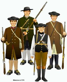 The Minutemen were men who were part of the militia which is a group of people who help the army in a time of need. Minutemen were part of the militia, but they offered there duties to be ready in under a minute.