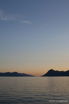 The Molde-fjord ( nature photography silouette norway molde)