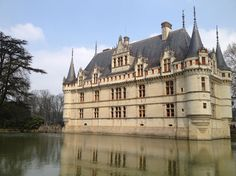 "Azay le Rideau - the Renaissance ""jewel"""