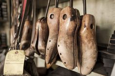 Frank Catalfumo has been making and repairing shoes at F Shoes, in Bensonhurst, Brooklyn, since 1945.