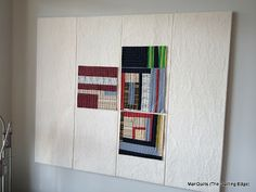 Quilting design wall tutorial