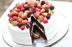 Thanksgiving Devil's Food Cake by California Bakery
