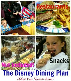 Disney Dining Plan: To Do or Not To Do?