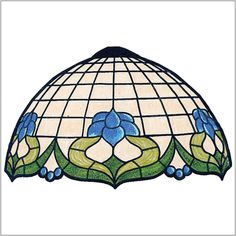 """Rococo Pattern for 1/6 Sectional 19.5"""" Globe Shape"""