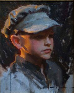 Portrait - Mike Malm-Young Pioneer-2009-sold