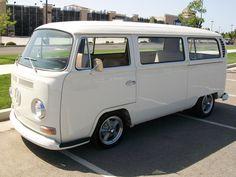 Early Bay VW Bus