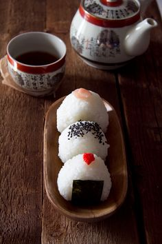 Onigiri - Japanese Rice Balls - I have always wanted to try these.