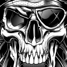 "1,179 Likes, 15 Comments - SWEYDA | Jared Mirabile (@sweyda) on Instagram: ""Details, I obsess! #vector #pirate #skull #illustration #jollyroger #sweyda"""