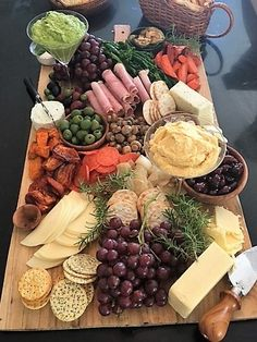 Antipasto display for Emily's shower with roasted vegetables, cheeses, and dips. Antipasto display for Emily's shower with roasted vegetables, cheeses, and dips. Charcuterie Recipes, Charcuterie And Cheese Board, Charcuterie Platter, Cheese Board Display, Charcuterie Display, Cheese Boards, Meat And Cheese, Cheese Platters, Antipasto Tray