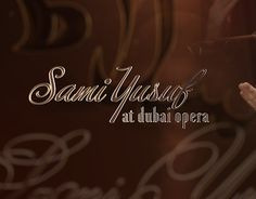 """Check out new work on my @Behance portfolio: """"Sami Yusuf At Dubai Opera Title"""" http://be.net/gallery/59453191/Sami-Yusuf-At-Dubai-Opera-Title"""