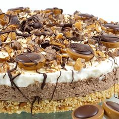 yummy cakes homemade how to make Toffifee-Torte von Evas_Backparty How To Cook Pasta, How To Cook Chicken, Homemade Cake Recipes, No Cook Desserts, Food Cakes, Savoury Cake, Mini Cakes, Yummy Cakes, Chocolate Recipes