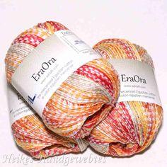 EraOra Orange Fancy von Adriafil - Heikes Handgewebtes