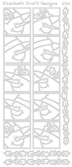 Elizabeth Craft Design PeelOff Sticker 2784B by PNWCrafts on Etsy, $2.10