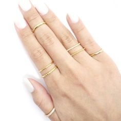 Hand Jewelry, Dainty Jewelry, Anklet Jewelry, Luxury Jewelry, Jewelry Gifts, Jewlery, Stackable Diamond Rings, Stacking Rings, Thin Gold Rings