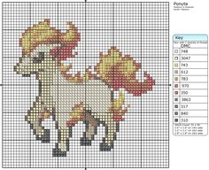 77 - Ponyta by Makibird-Stitching.deviantart.com on @deviantART