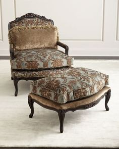 vintage wing chair and ottoman ziouani sonyau0027s pinterest ottomans wings and vintage