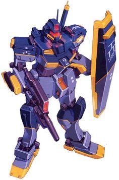 RGM-79CR GM Kai High Mobility Type - Titans Test Team (Photo Novel: Advance of Zeta: The Flag of Titans.)