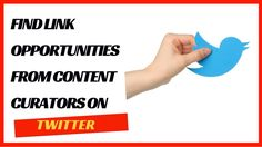 One of the easiest ways to find white hat link building opportunities is by searching for content curators in your industry on Twitter. Rather than trying to pitch to people that aren't looking for content sources, you can pitch to people that are actively looking for content resources to publish quickly. They might be looking for sources to publish in an interview, newsletter, bulletin, guest post, ebook and more. Watch the video to learn more #twitter #seo #linkbuilding #whitehatseo
