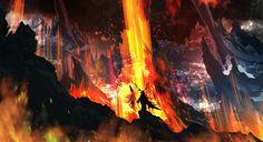 Rising Lava by TacoSauceNinja.deviantart.com on @DeviantArt