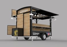 Food Truck Carros De Comida Ideas For 2020 Mobile Food Cart, Mobile Food Trucks, Food Cart Design, Food Truck Design, Food Stall Design, Foodtrucks Ideas, Coffee Food Truck, Mobile Coffee Shop, Coffee Trailer