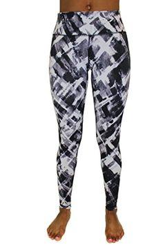 90 Degree by Reflex  Performance Activewear  Printed Yoga Leggings