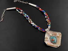 Begaye, Vernon – Necklace With Sterling Silver Pendant