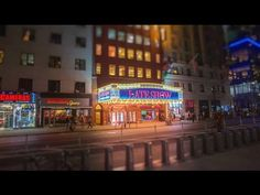 """By now you're probably familiar with filmmaker Fernando Livschitz's gorgeous NYC opening for """"The Late Show With Stephen Colbert,"""" but there's a lot more to . Title Sequence, City Scene, Stephen Colbert, Historical Art, Live Tv, Stop Motion, Live Action, Music Is Life, Cool Artwork"""